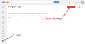 google-plus-create-page