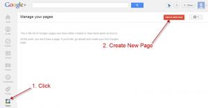 google-plus-create-page